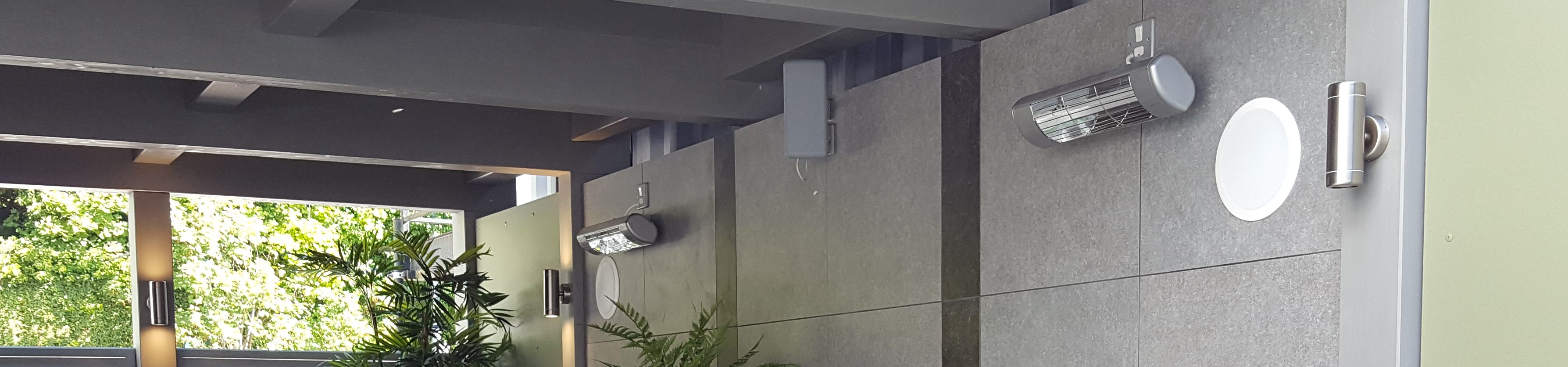 A Luxury Outdoor Heating Project