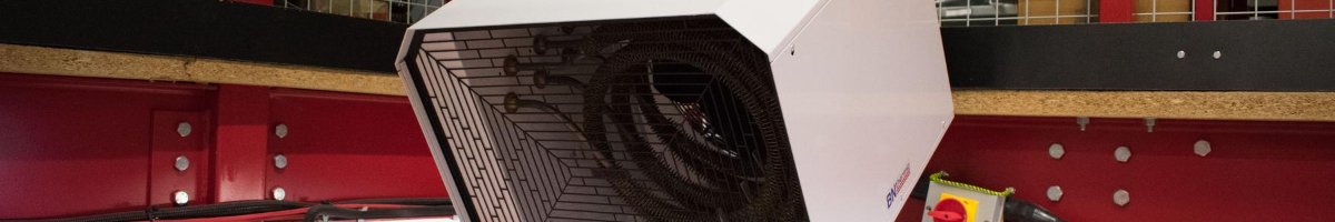 Hang Tough with OUH2 Industrial Fan Heaters