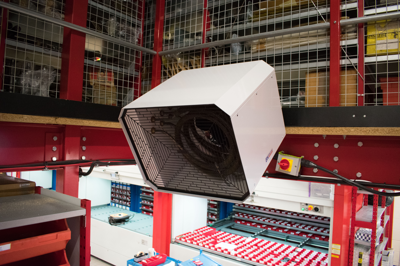 industrial fan heaters
