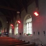 HNs providing instant comfort heat to a church in Norfolk