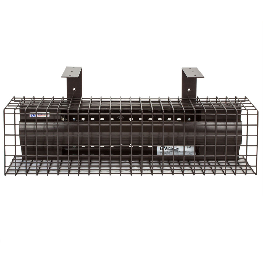 300W pew heater with optional suspension brackets and safety guard