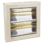 Twin lamp 3kW infrared heater