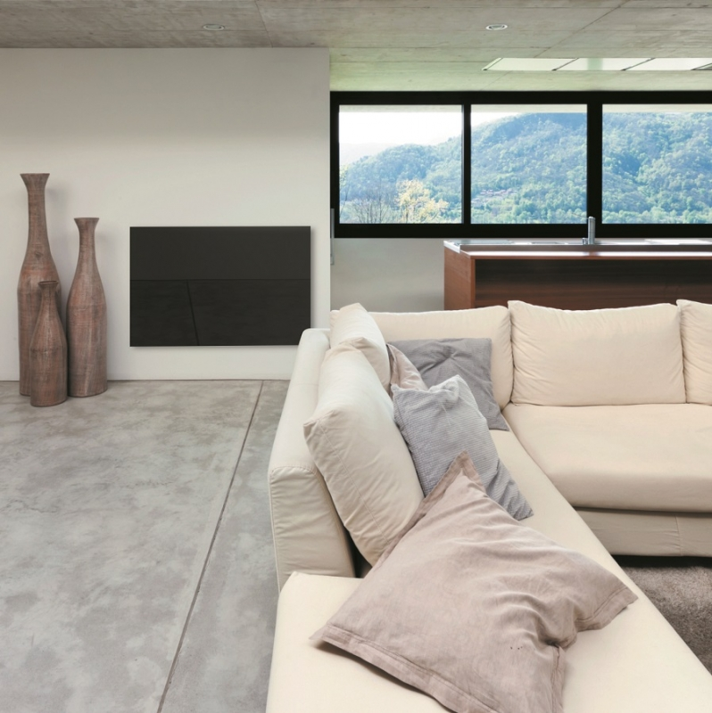 A GL-05B installed in a modern living room