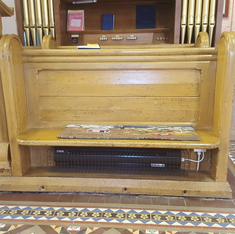BLCs come in 3 sizes to ensure they fit under any size pew