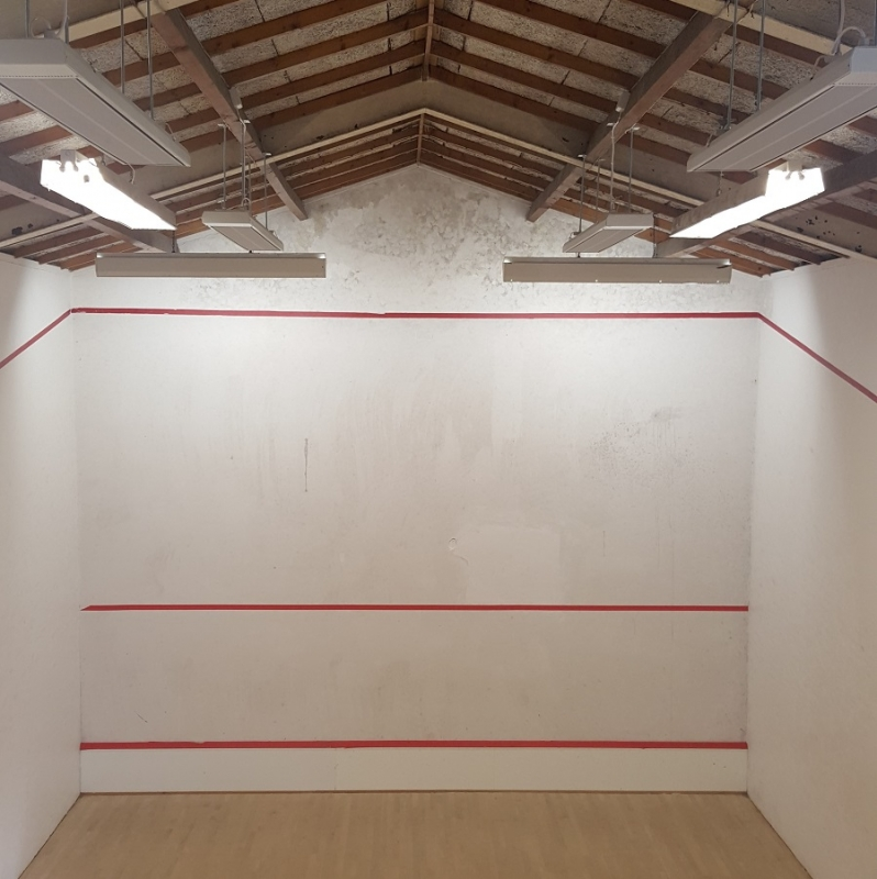 ESPs are ideal for heating squash courts and sports halls