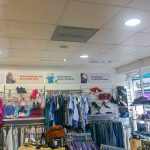 An SCH installed in a charity shop in Calverton, Nottinghamshire