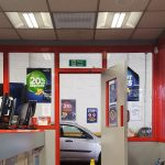 SCHG-30s are ideal for heating trade counters and waiting areas