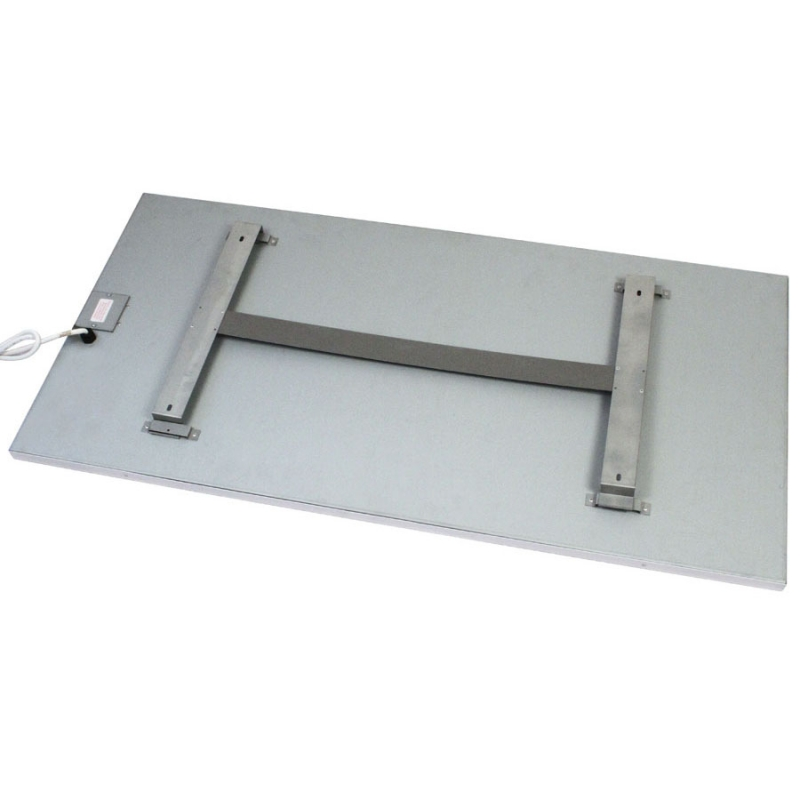 RP Radiant Ceiling Panel - 1200 x 600 version - rear view showing mount