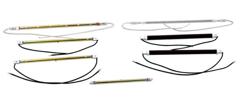 RL Series of replacement infrared lamps