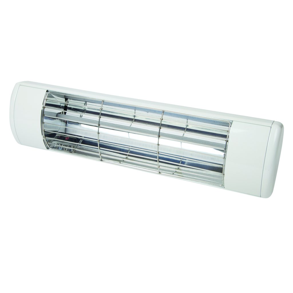 1.5kW Patio Heater - White