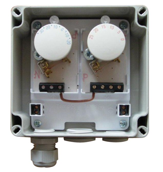GP-T Thermostat for use with gutter and downpipe heating