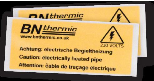 PF-L Warning Labels