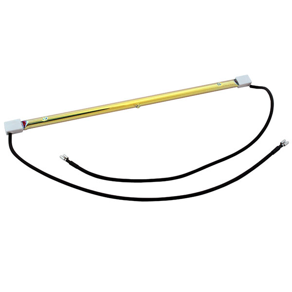 RL15GP Gold lamp with flexible leads, SK15 caps with push-fit terminals