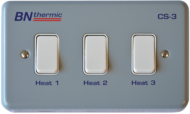 CS-3 Control switch for three lamp halogen heater - BN Thermic