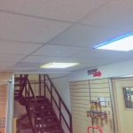 RP-03s installed above the trade counter at Western Electrical's Exeter branch
