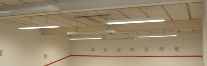 Cost Effective Squash Court Heating
