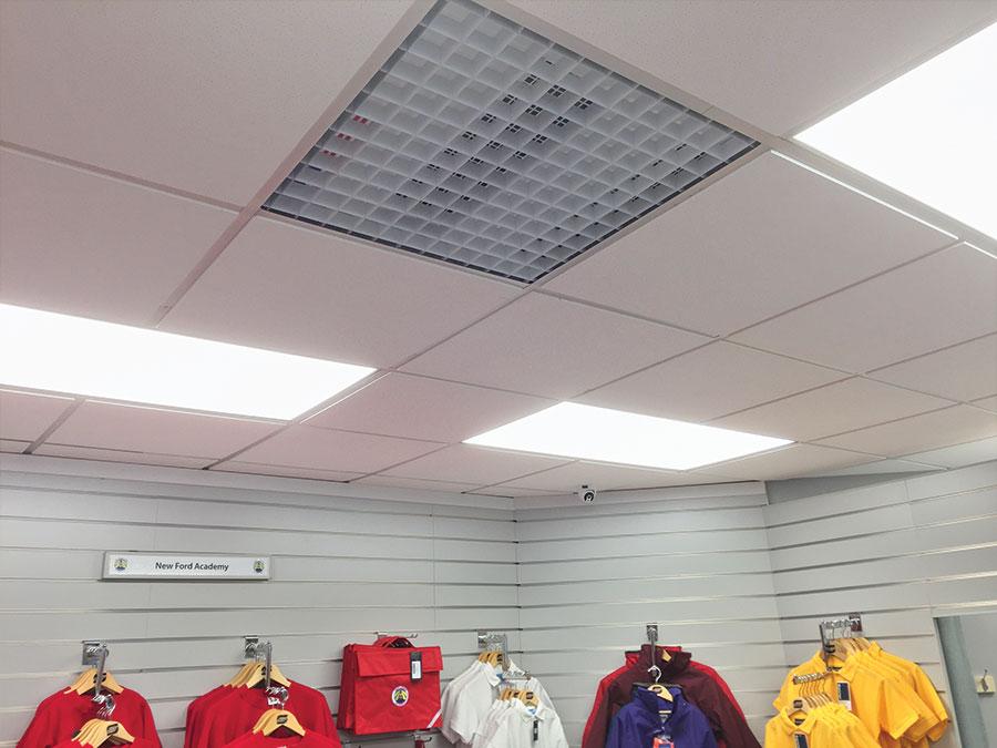 Ceiling Grid Heater