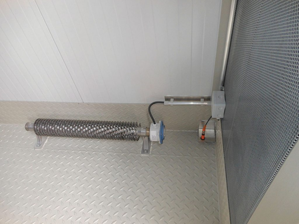 SWD heaters can be floor mounted or wall mounted using the brackets provided