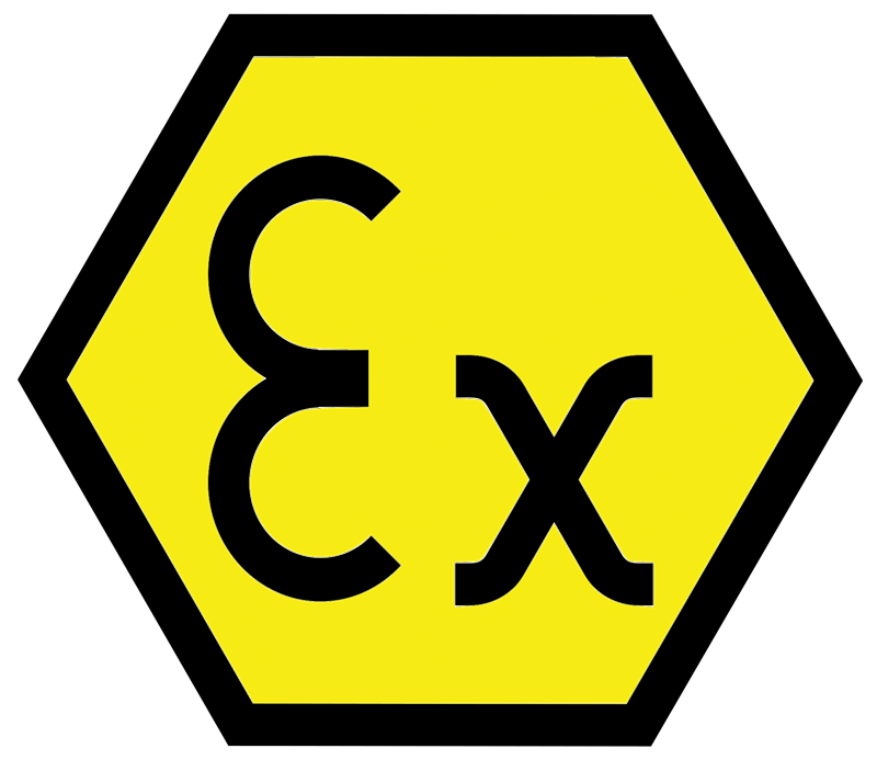 ATEX logo yellow