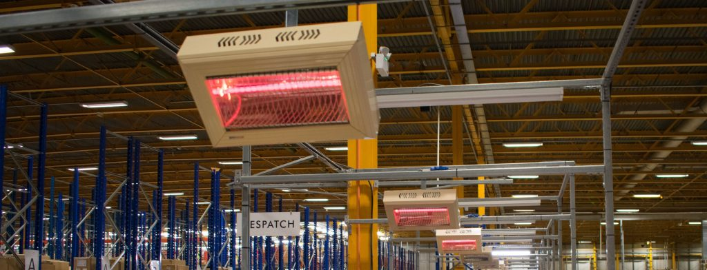 Energy Efficient Radiant Heaters at Joules Distribution Centre