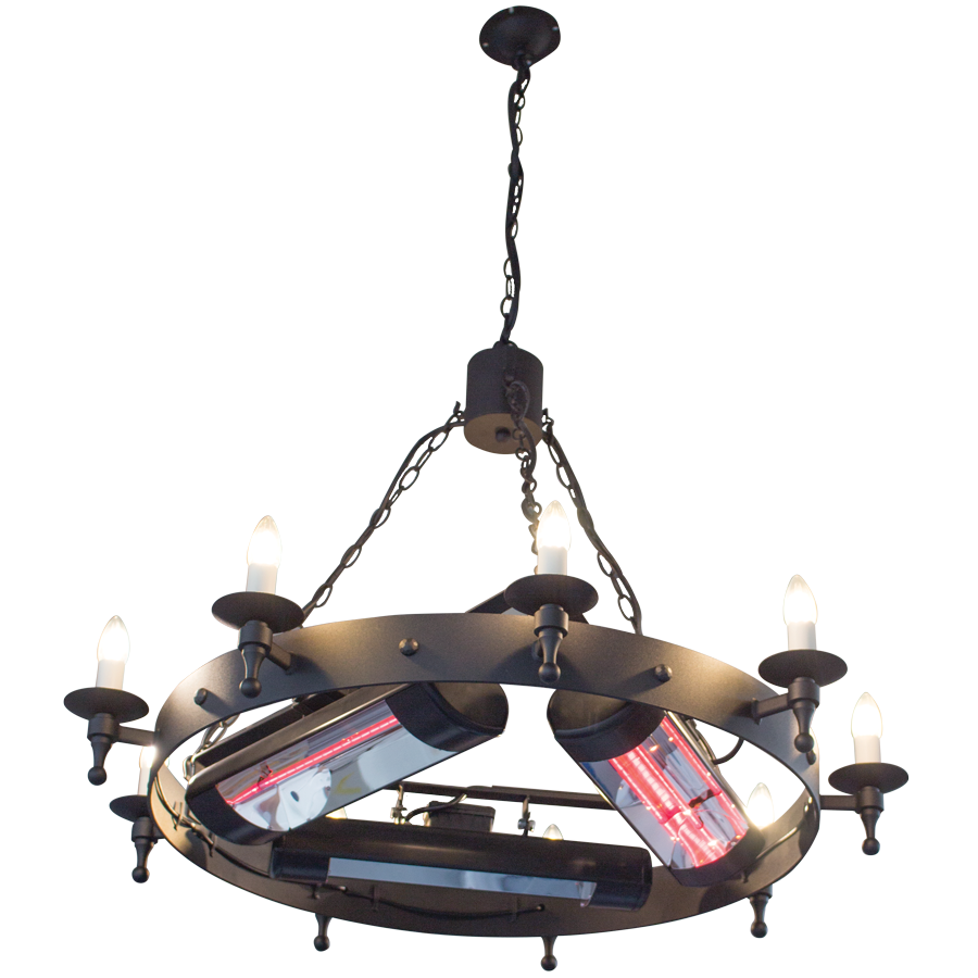 CM Heated Chandelier
