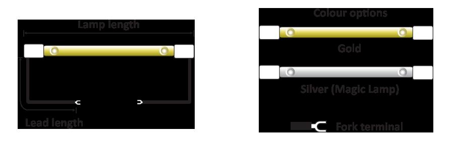 RL Standard lamps