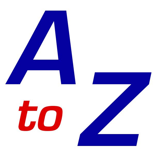 AtoZ banner