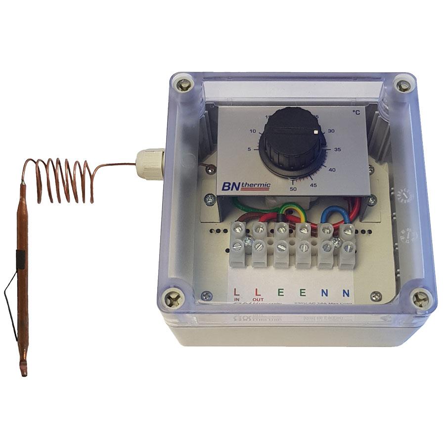 THT Weatherproof capillary thermostat