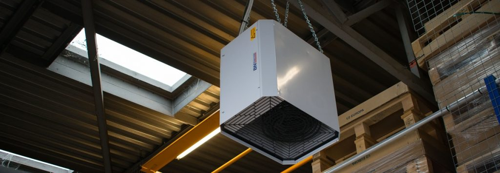 Heating a Warehouse with BN Thermic Industrial Fan Heaters