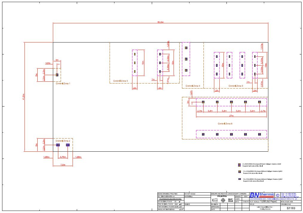 Heating Designs, Site Visits and Proposals