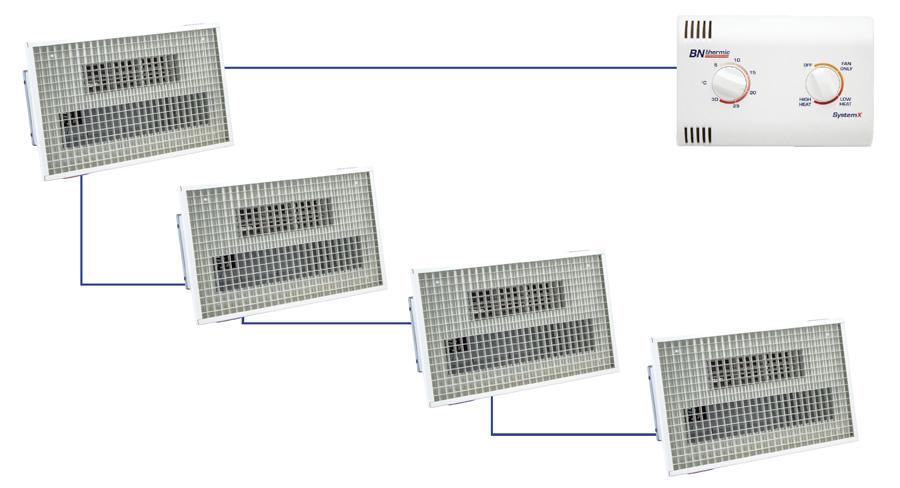 SystemX recessed overdoor