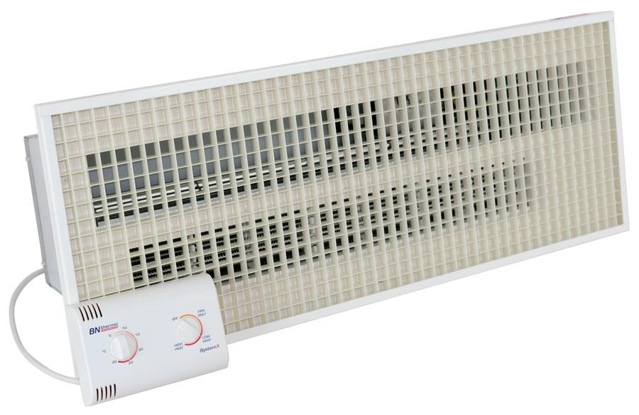System X - Recessed Overdoor Heater