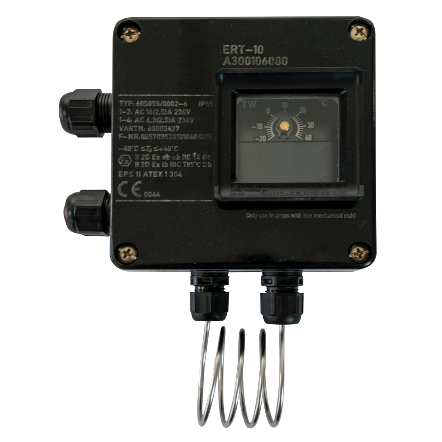 TXST-03 ATEX approved thermostat for use with hazardous gases and dusts