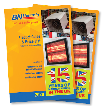 Download the latest BN Thermic catalogue TODAY!