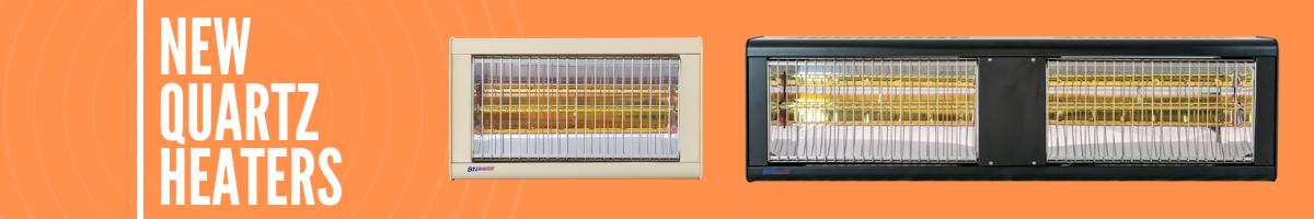 Introducing a New Range of Quartz Halogen Heaters