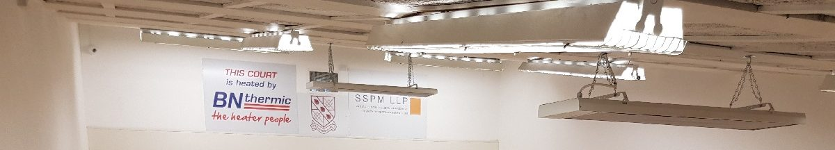 Heating a Squash Court with Radiant Heaters