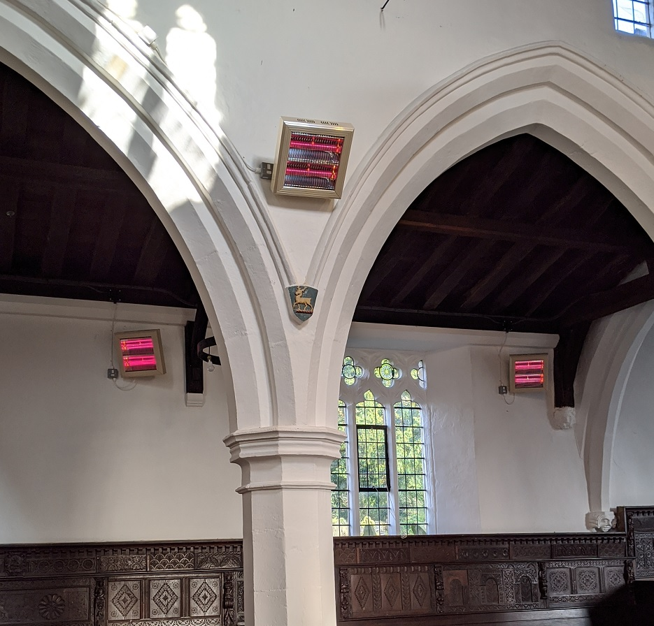 cost effective church heating