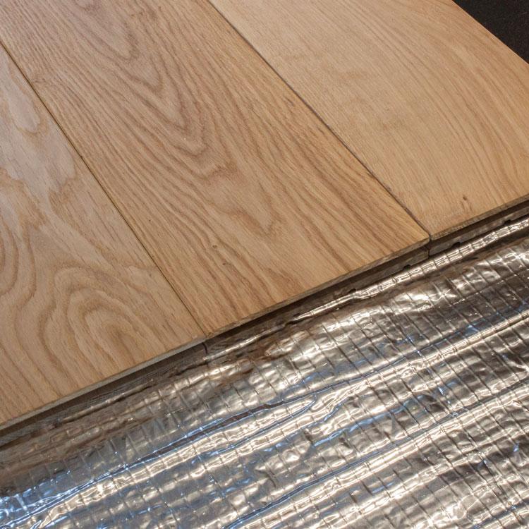 foil underfloor heating