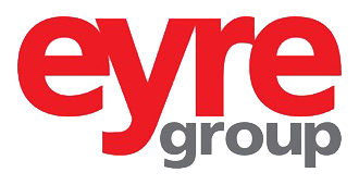 eyre group logo red