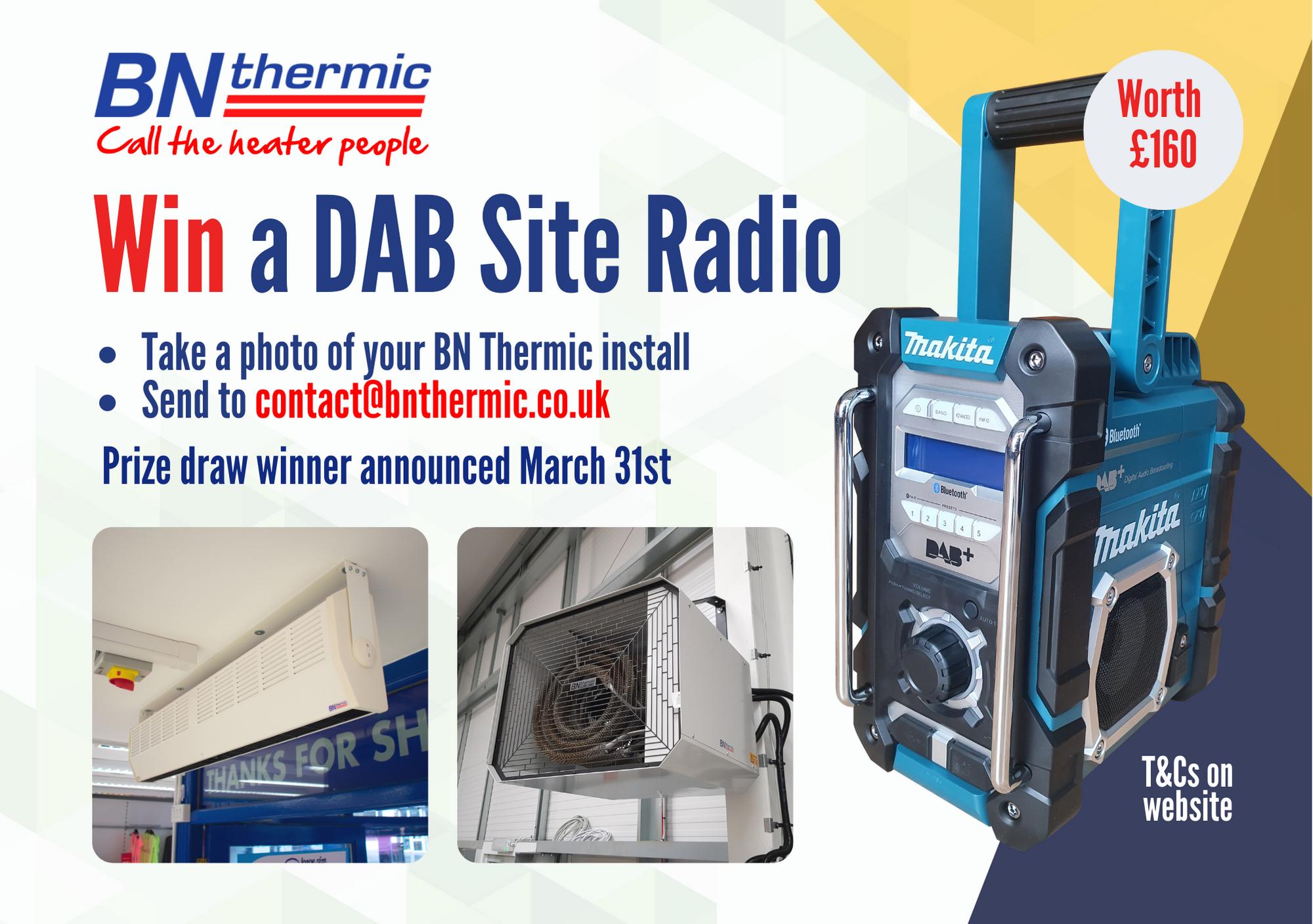Win a DAB Site Radio!